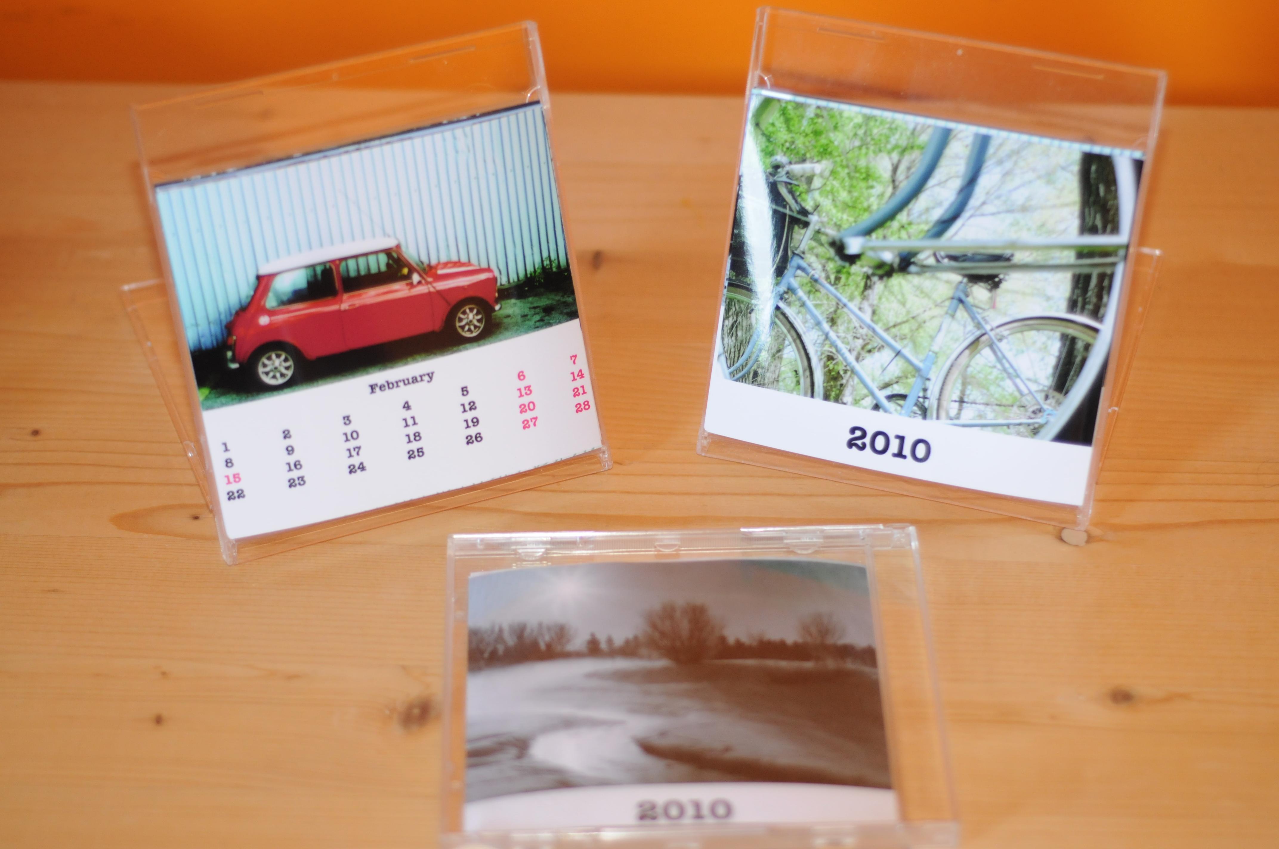 Diy Calendar Cd Case : Diy cd case calendar craft collective