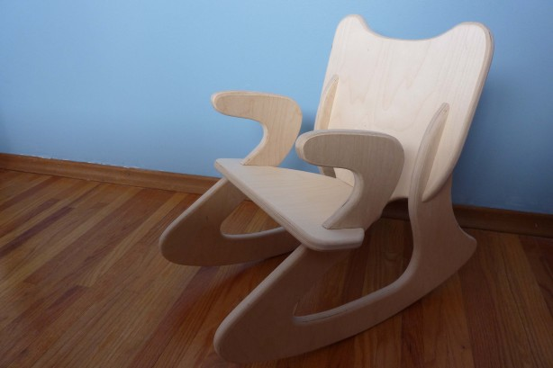 plywood rocking chair plans