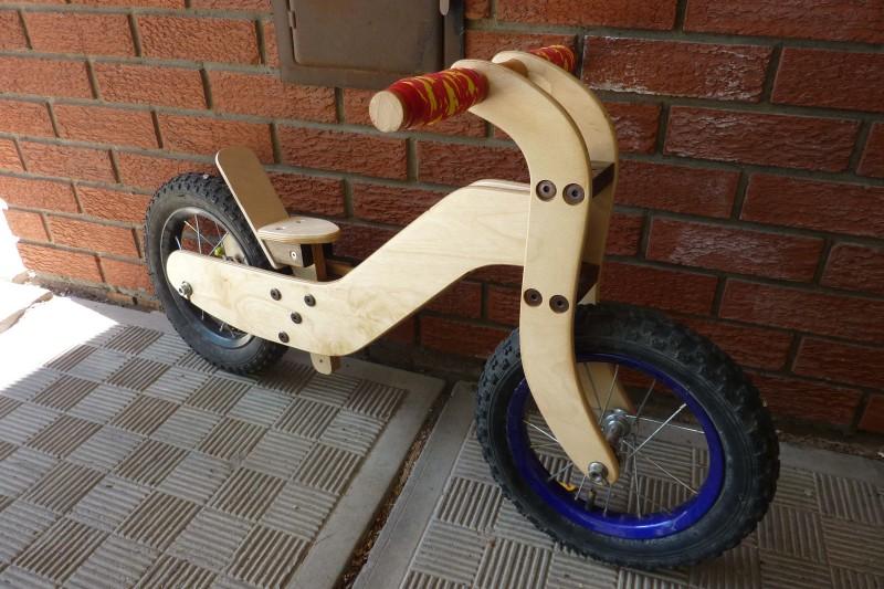 wood bike blueprints