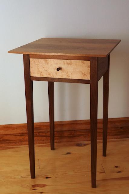 shaker coffee table plan
