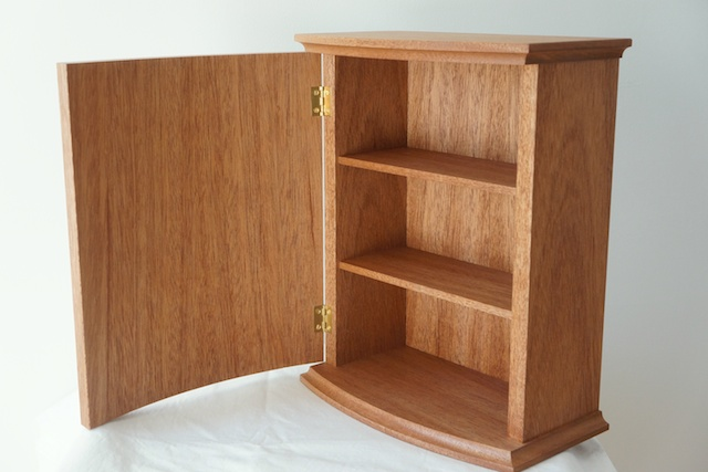 bow front cabinet | Craft Collective