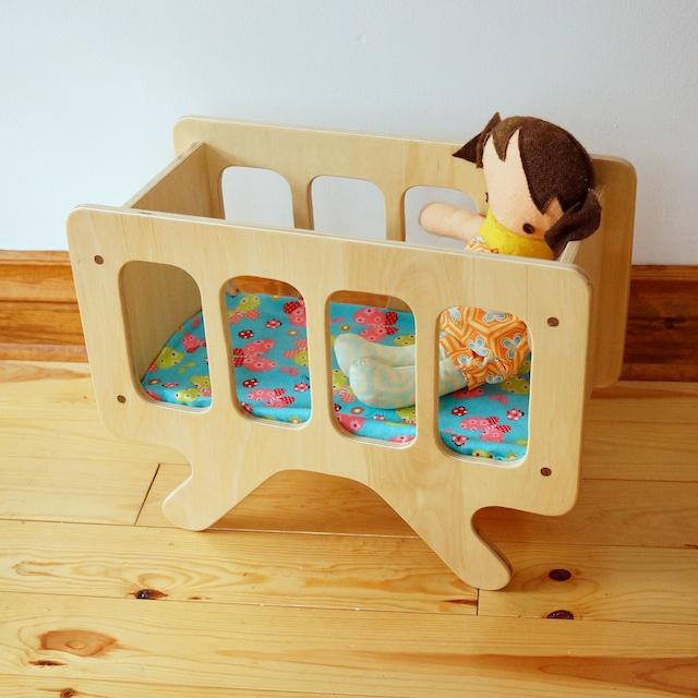Toys Doll Crib 80